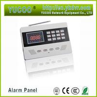 wireless home security GSM alarm system with 2pcs window/door sensor + 2 PIR sensor + 2 remote 900/1800MHZ