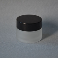15g cream jar,glass bottle,frosted glass cream jar