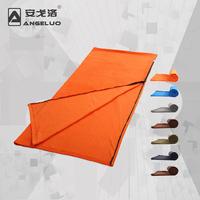 Free shipping  Envelope style fleece sleeping bag multifunctional polar fleece sleeping bag fabric liner