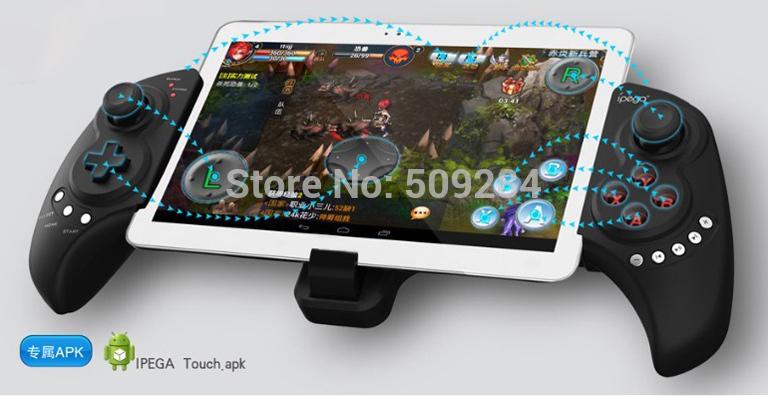Как сделать планшет геймпадом для пк