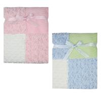 Luvable Friends Super Soft Fleece Baby Blanket Newborn Multi-Fabric12 Panels Manta Bebe Infant Baby Product  Baby Bedding Winter