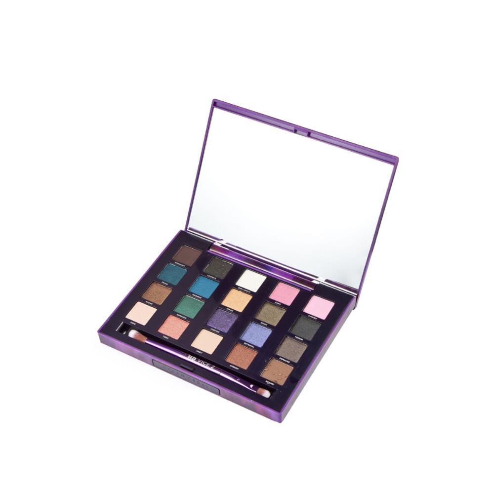 20 farben lidschatten kosmetischen make-up-palette Glanz und schimmer augenschminkepalette professionellen make-up für frauen