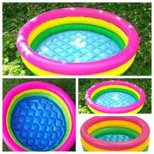 Praia anel Swim inflável piscina para adultos e criança bebê piscina de natação piscine colchão de ar inflável piscina inflavel(China (Mainland))
