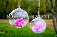 Free Shipping Hanging Glass Globe, Hand Blow Decor Glass Ball , Air Plant Glass Terrarium