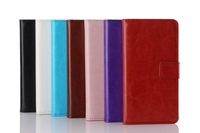 2014 New Luxury Wallet Leather Case Cell Phone Cases for LG Optimus L9 II D605 With Credit Card Holder flip Cover Case