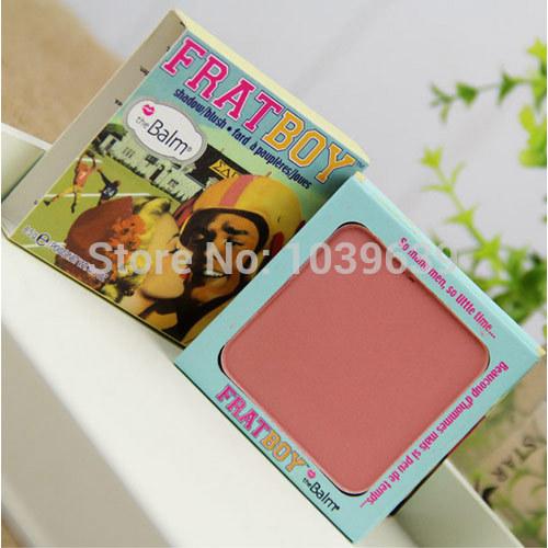 Hot sale brand makeup the balm frat boy eye shadow / blusher wholesale drop shipping(China (Mainland))