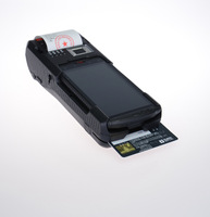 Handheld Wireless 3G  Fingerprint POS Terminal with Printer (CP810)