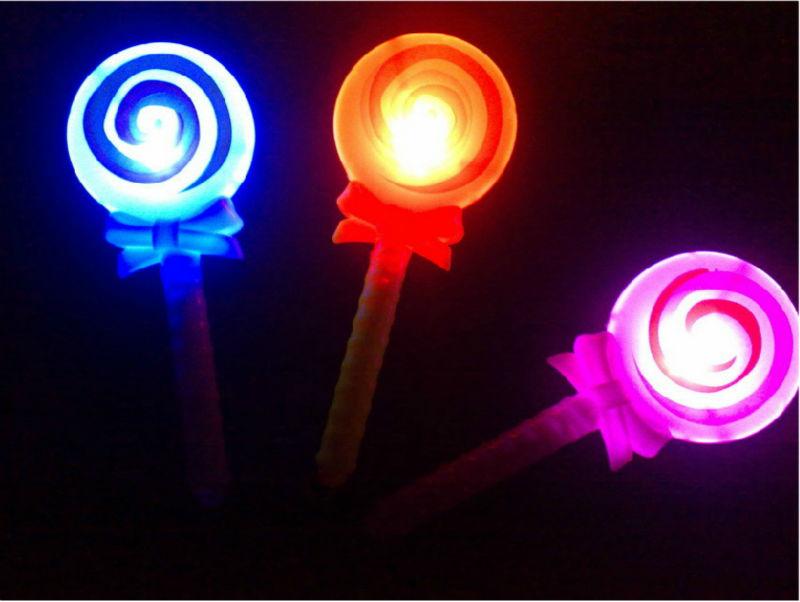 20pcs/lot LED Lollipop Glowing Light Sticks,Party Wedding Birthday Christmas Kids Toys Flash Light Party Favors(China (Mainland))