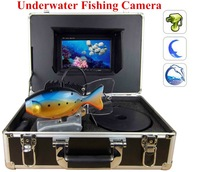 7 Inch Monitor 20m Cable underwater monitor camera with Hard Carrying Case