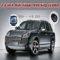 12V Reverse Parking Backup For Car Radar System 4 Sensors Digital Display and Step-up Alarm  LD-09