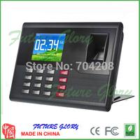 Desktop Tcp/ip Fingerprint and Id Card Attendance Time Clock System