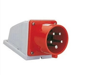 TYP633 (16A 4 core) surface mounted seat pin industrial plug