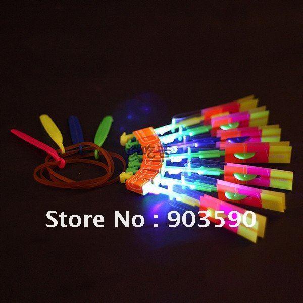 Kids toys led Flying Umbrella Super Deals for Chrismas Day LED Amazing arrow helicopter free shipping(China (Mainland))