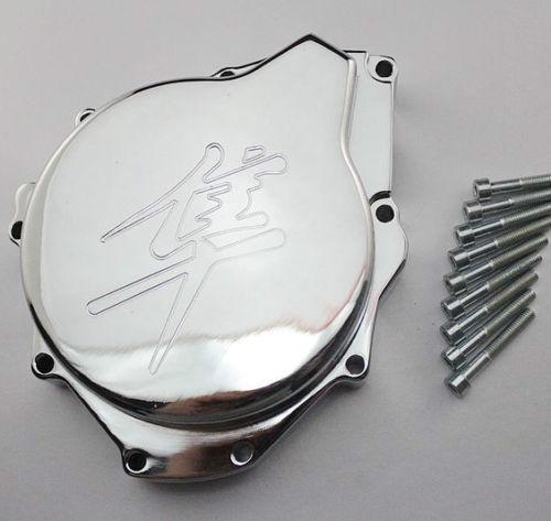 Chrome Motor estator Capa Para Suzuki GSX1300R Hayabusa para 2004 2005 2006 2007 2008(China (Mainland))