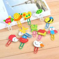 Korean Stationary Free Shipping Cartoon Animal Shaped Clip Bookmark