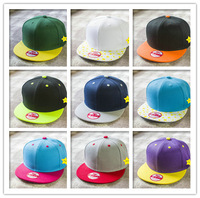 2014 New fashion bone snapback baseball cap for men and women flat cap brand Adjustable outdoor caps colorful basket ball cap