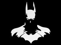 "2014 new car styling,waterproof ""Cute Batman "" car sticker for KIA Rio,Opel car covers,Free Shipping"