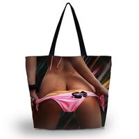 Sexy Travel Shopping Tote Beach Shoulder Carry Hobo Bag Women Handbag Washable
