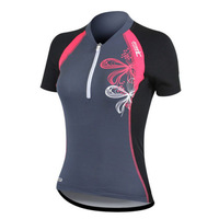 SANTICE New Women Cycling Jersey Bicycle Bike Running Fitness Comfortable Short Sleeve Clothes Clothing Jersey Shirt S-XL