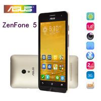 original zenfone 5 inch cell phones Corning Gorilla 1GB /8GB Android 4.3 OS Intel Atom z2580 Dual SIm Card GPS WIFI SmartPhones