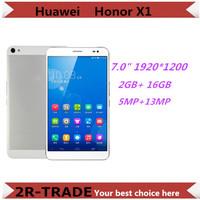 "Original Huawei Honor X1 Quad Core Mobile Phone 7"" Mediapad X1 Tablet PC 1920*1200 2GB RAM 16GB ROM 13MP Camera 4G FDD LTE phone"