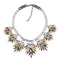 2014 New Z design for women fashion necklace & pendant bib collar chunky bubble choker bib pendant  statement Necklace