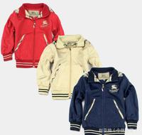 Retail Brand Boy's Warmer Jacket/Boy's Outerwear/Children's Windbreaker/Baby Kids Patchwork Hoodies & Sweatshirts/Girl's Trench