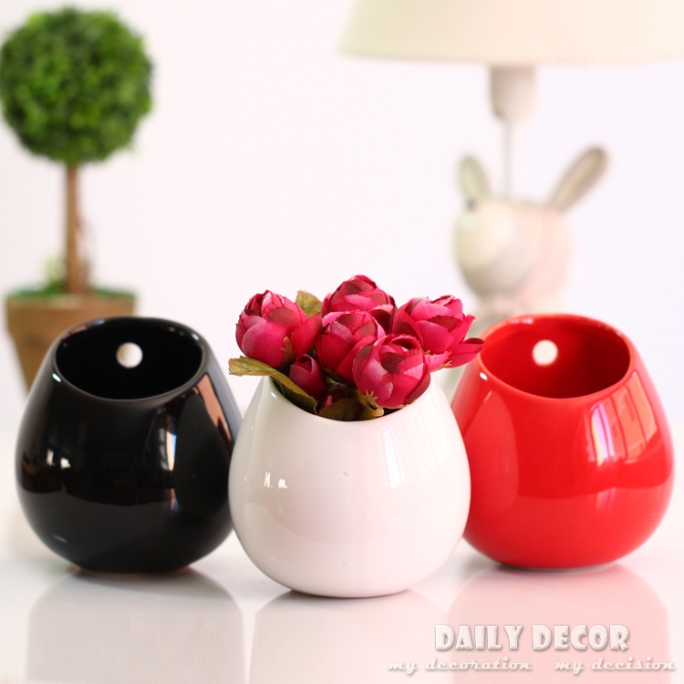 Ceramic Wall Pots Pots Small Wall Mounted