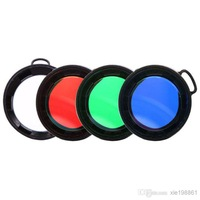 Free Shipping +OLIGHT Flashlight Filter Diffuser FSR50-R/FSR50-G/FSR50-B/DSR50 for M31/M3X/SR50