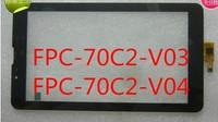 Tongfang N703 tome nair MOMO9T P710 3C  FPC -70c2-V03/04 screen capacitive touch screen