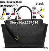 2014 fashion famous brand design handbag multicolor women messenger bags shoulder totes pu leather Cross grain female bag