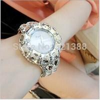 Diamond Chic Luxury Rhinestone Crystal lady's Women Dress Gift Quartz Wrist Watches