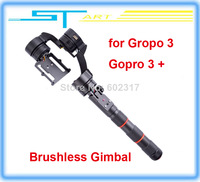 2014 Newest 819 Feiyu FY-G3Ultra Handheld Steady 3 Axis Brushless Gimbal for Gropo 3 Gopro 3 + Stabilizer RC Drone q helikopter
