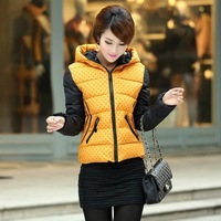 big size Free Shipping,new 2014 Down & Parkas women's padded cotton jacket Long down jacket winter coat women jackets