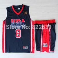 Scottie Pippen 1992 Dream Team Jersey, 1992 USA Dream Team 8 Scottie Pippen Basketball Jersey and Short