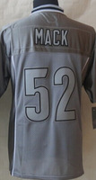 #52 Khalil Mack Men's 2014 Gray Vapor Elite American Football Jerseys Cheap Sale,wholesale