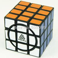 New WitEden Super 3x3x4 black Crazy Magic cube speed Puzzle