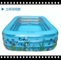 free shipping  hot sale Rectangular outdoor PVC material intex above ground swimming pools