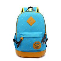 2014 new fashion backpack Korean fashion casual canvas backpack school backpack  travel bag