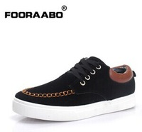 2014 New Aautumn Fashion Nubuck leather men casual shoes Men sneaker Skating board shoes Male flats