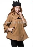 New Arrival 2014 Fashion Women's Coats Autumn Winter Slim Coat For Women