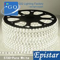CP 5 m/roll hot sale LED strip light   led string tape DHL FEDEX  100v  110v 120v 5730