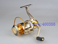 BY5000 11 Ball Bearings fishing reel spinning Gapless Pesca Left/Right Interchangeable Collapsible Handle metal spool