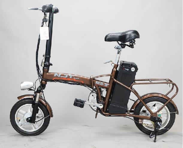 High quality Shock absorption Mini 12 240W 24V 10Ah li ion E Bike Foldable 28km h