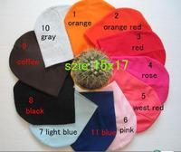 10pcs/lot   free shipping  11color baby hat baby cap infant cap Cotton Beanie Infant Hat Skull Cap Toddler Boys & Girls Hats