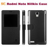 100% Original Nillkin Leather Case For 5.5 Inch MTK6592 Octa Core Android Smartphone Redrice Xiaomi Redmi Note