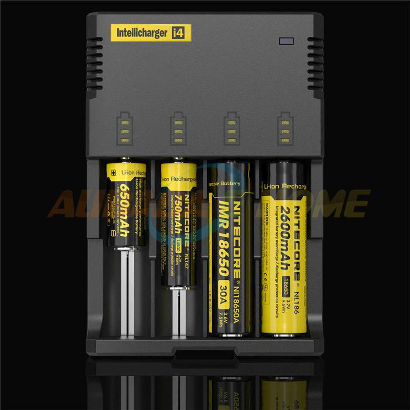 New Nitecore i4 Intellicharge Universal Battery Charger RCR123A 26650 18650 AA/AAA WIth Retail box Free Shipping(China (Mainland))
