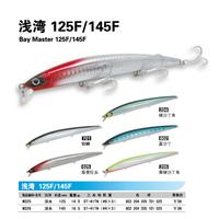 Fish m125f minnow 125mm 14.5g jewfish lure