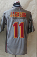 Free Shipping Wholesale 2014 New Washington Elite Jerseys #11 Desean Jackson American Football Jerseys Grey Vapor Elite Jerseys