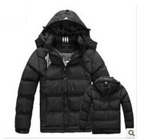 Free shipping! hot sell! 2014 warm brand men's Sport Hoodie Winter down jacket active cotton-padded coat Plus Size L-XXXLcoat